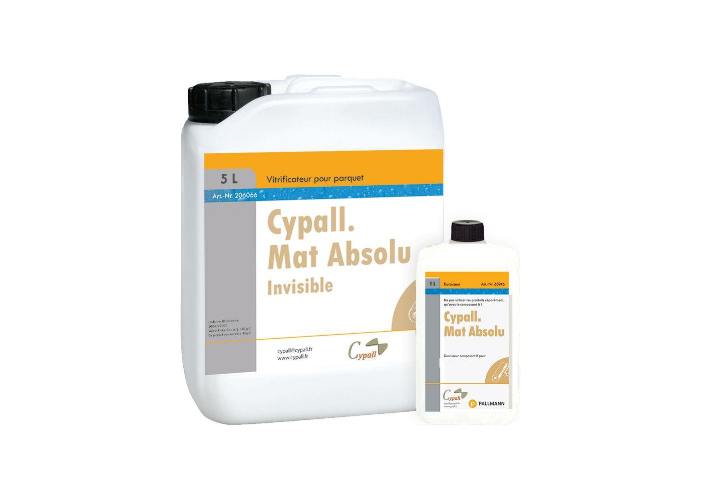 Vernis Mat Absolu 2K bi-composant polyuréthane Effet Invisible 5 + 0,5 + 0,5 L