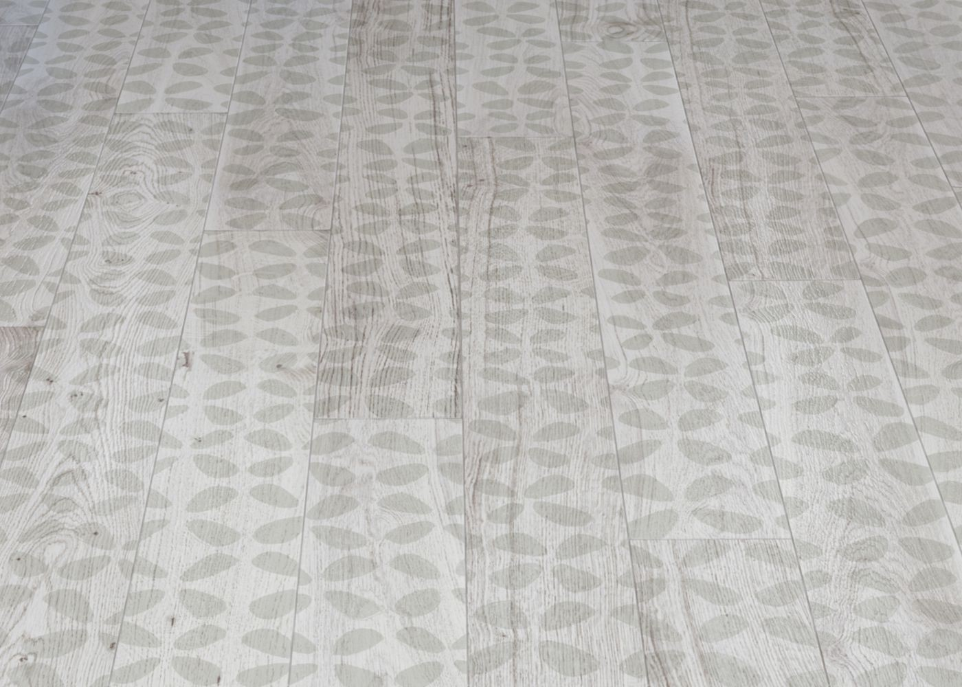 Parquet Contrecollé Monolame Chêne G4 PR Bis Contemporain Vernis Brossé Mat Teinte Blanche - Design Archipetalli 1 (Nigel Coates )- Pefc - Fsc 13x120x1200