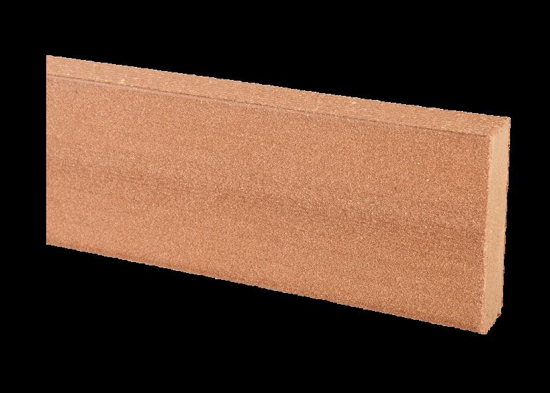 Jupe De Finition Bois Composite Teinte Brun Colorado Lisse