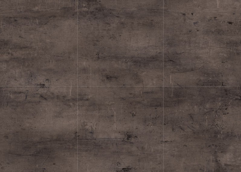 Dalles vinyles LVT, passage intensif,  clipsable Monolame G4 Zinc 907d