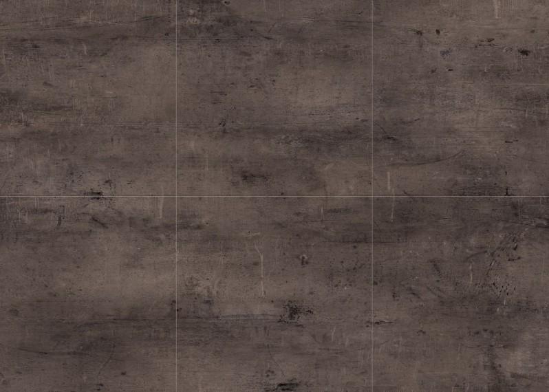 Dalles vinyles LVT, passage intensif,  clipsable Monolame G4 Zinc 907d, 5x612x612