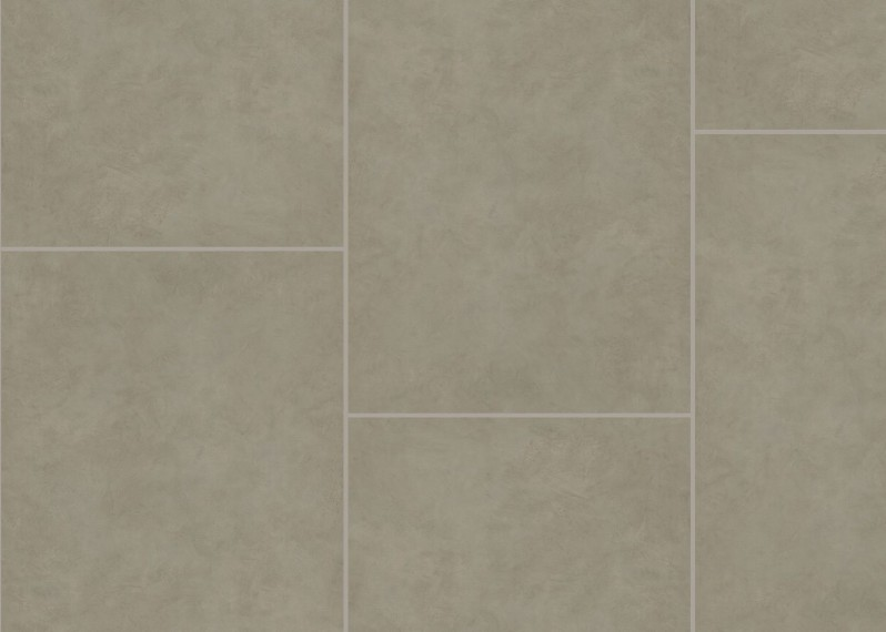 Vinyle rigide Béton Sel de Mer G4 passage commercial 4x600x900