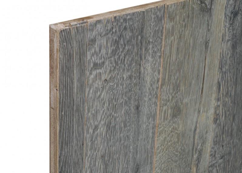 Panneaux 3 plis campagne vieilli chêne Fond de Wagon Origine brut FSC