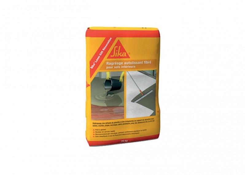 Ragréage Sika Level 330 rénovation P3 fibreux 25 kg