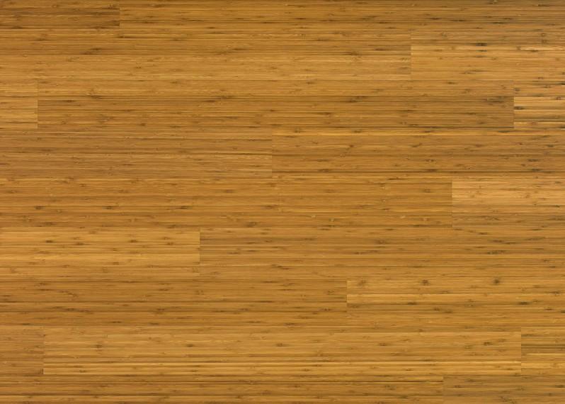 Sol plaqué bois Bambou Café vernis satiné - Lounge - Select 8x124x1203
