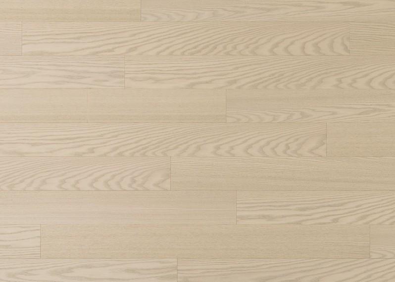 Sol plaqué bois Cotton Triba brossé vernis mat - Lounge - Select 8x124x1203