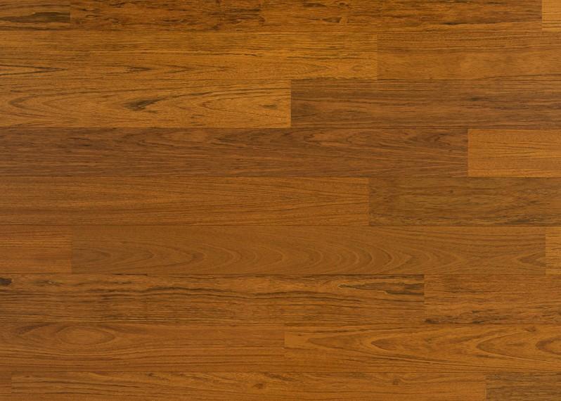 Sol plaqué bois Jatoba vernis satiné - Lounge - Select 8x124x1203