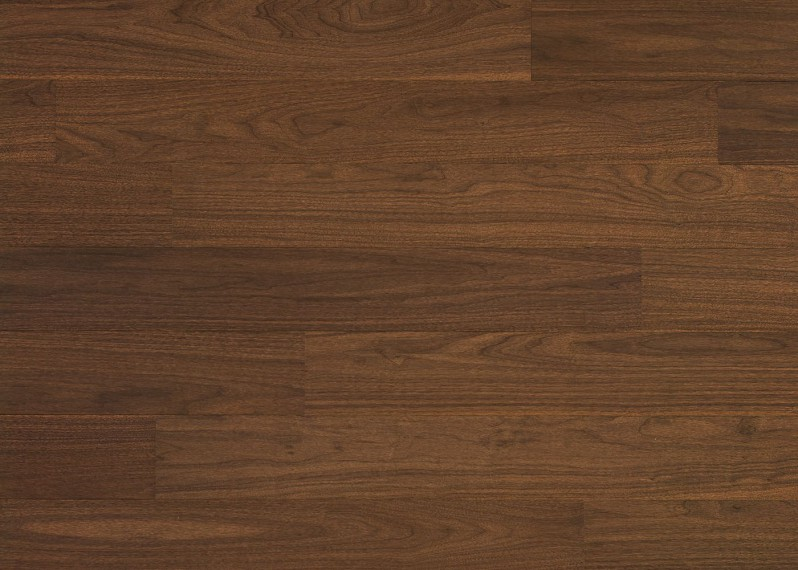 Sol plaqué bois Noyer vernis satiné - Pro - Select 7x190x1203