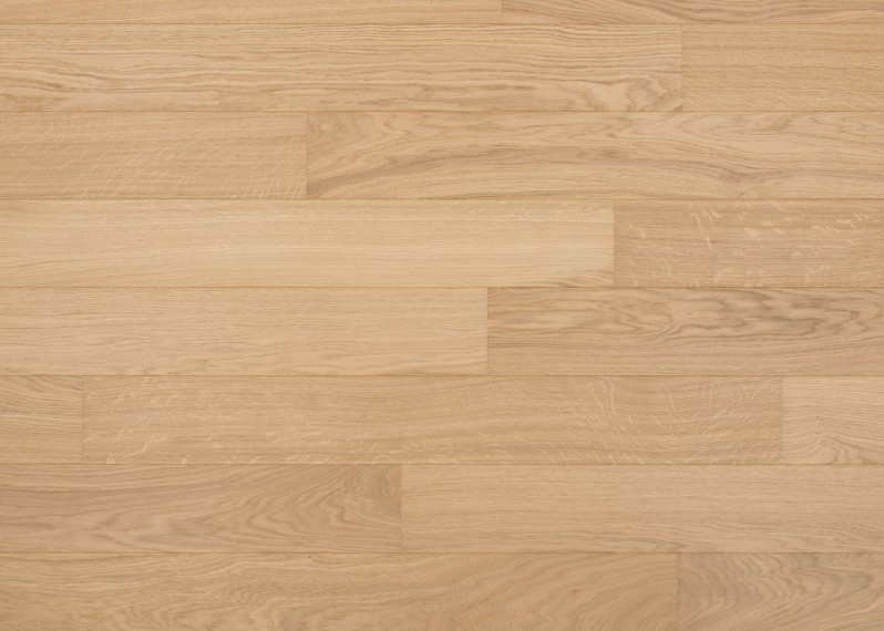 Sol plaqué bois chêne Côme brossé vernis mat - Pro - Select 7x190x1203