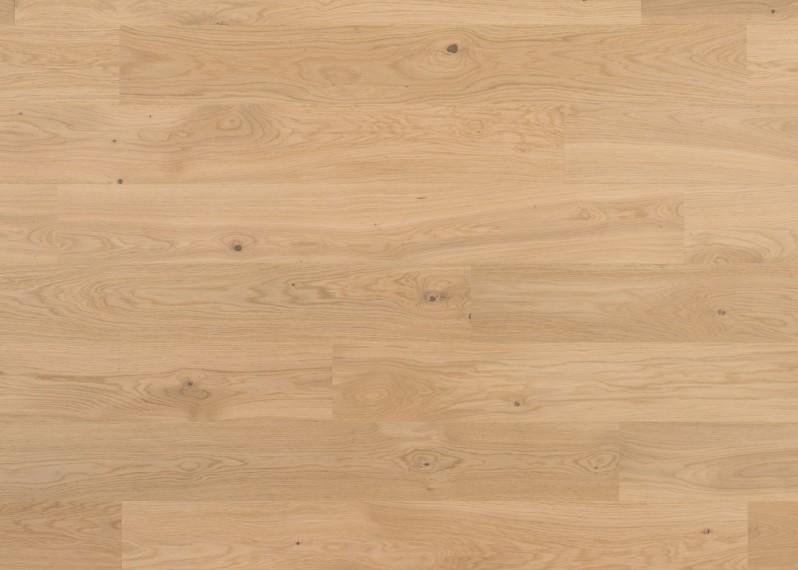 Sol plaqué bois chêne Côme brossé vernis mat - Pro - Elégance 7x190x1203