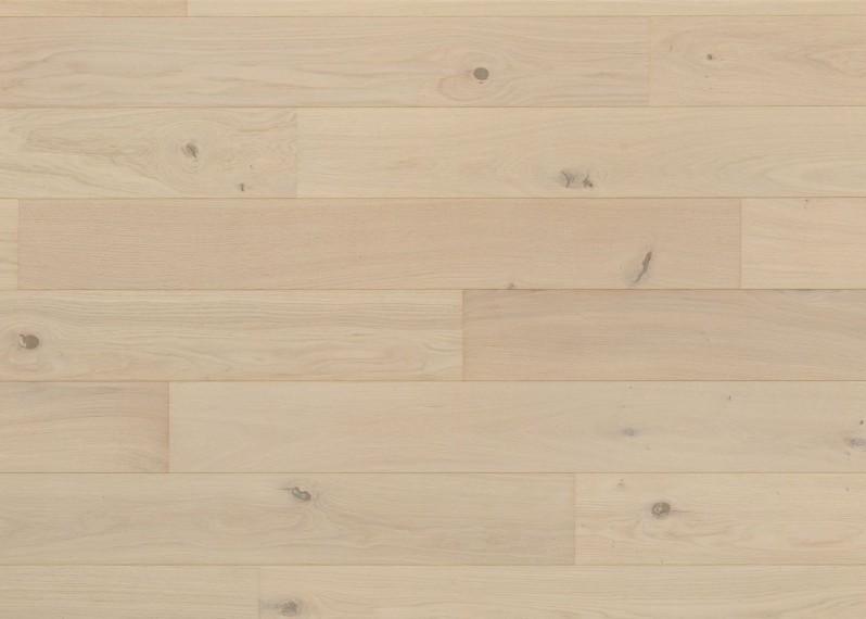 Sol plaqué bois chêne Davos brossé vernis mat - Pro - Elégance 7x190x1203