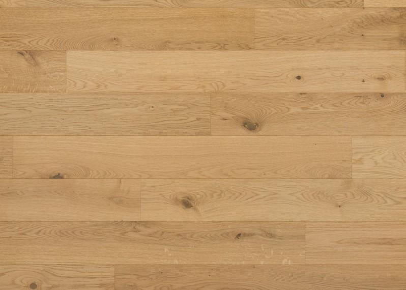 Sol plaqué bois chêne Salzbourg brossé vernis mat - Pro - Elégance 7x190x1203