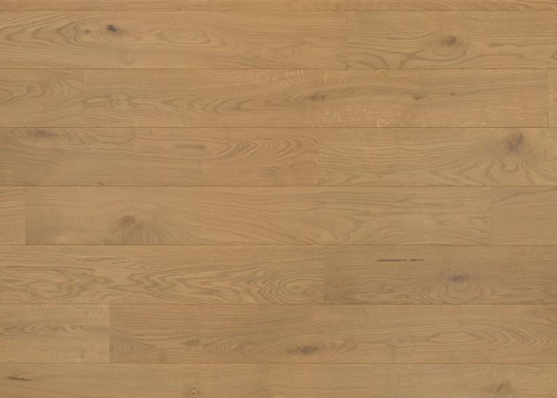 Sol plaqué bois chêne Vienne brossé vernis mat - Pro - Elégance 7x190x1203