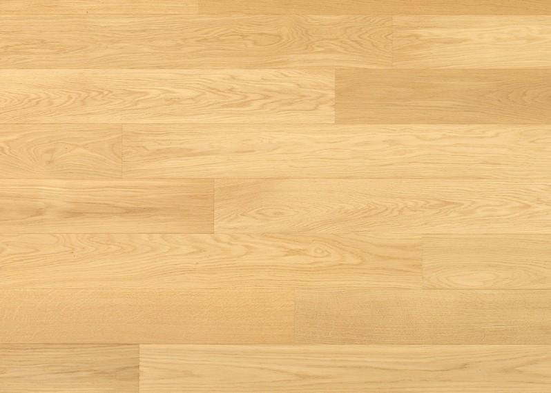 Sol plaqué bois chêne Solenzara brossé vernis mat - Pro - Select 7x190x1203