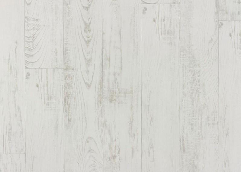 Sol stratifié Chic décor Châtaignier Blanc - PEFC