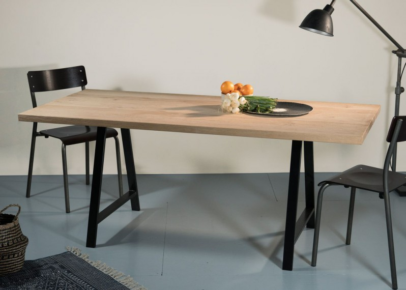 plateaux de table en bois et pieds sur mesure la parqueterie nouvelle. Black Bedroom Furniture Sets. Home Design Ideas