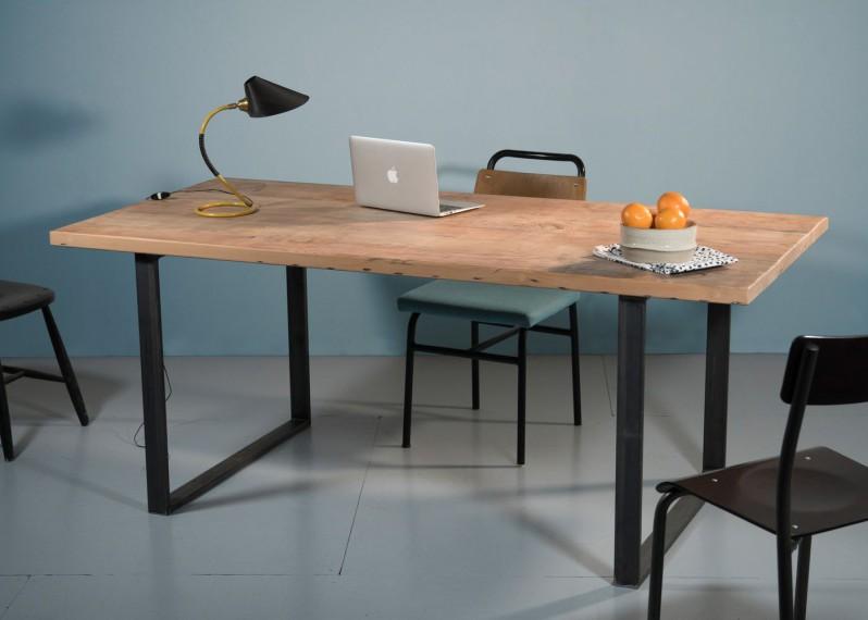 plateaux de table en bois et pieds sur mesure la parqueterie nouvelle. Black Bedroom Furniture Sets. Home Design Ideas