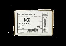 Vis Inox A2 Torx 4/40 pour Clip Plastique (x200, pour 10m2)