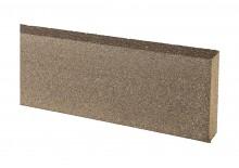 Jupe De Finition Bois Composite Teinte Gris Anthracite 20x70x2000