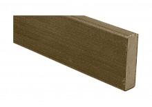 Jupe de finition bois composite co-extrudé Gris Cayenne 20x70x2000