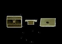 Clip Plastique Fixation Invisible Pour Bois Exotique pour 10m2, x200