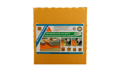 Colle Spatulable Adheflex Sika I-Eco - sans émanation de COV carton de 18kg