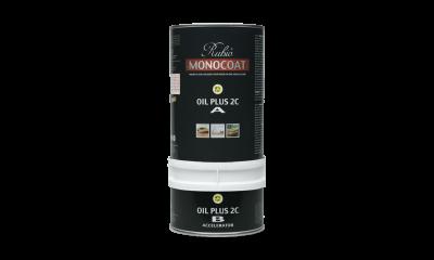 Huile Naturelle RubioMonocoat Oil Plus 2C pour Pavé en Bois De Bout 350ml