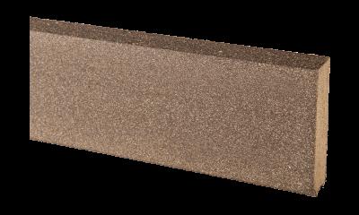 Jupe De Finition Bois Composite Teinte Gris Anthracite Lisse 20x70x2000