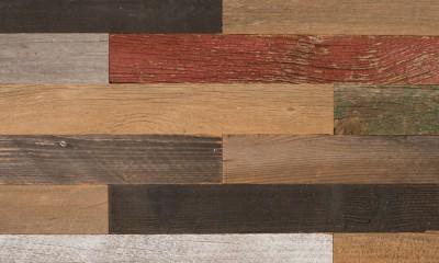 Bardage Monolame Bois Us Petit Patchwork Campagne Vieilli Color