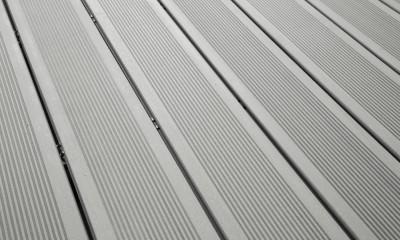 Bois Composite Teinte Gris Iroise Antidérapant Fixation Invisible