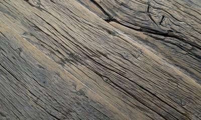 Table Sur Mesure Vieux Bois ASPEN 40mm, à partir de vieux fond de wagon ancestral chêne non raboté brut, longueur max 2600mm