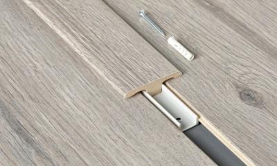 Accessoire profil melaminé barre de jonction - longueur : 1000mm - PEFC