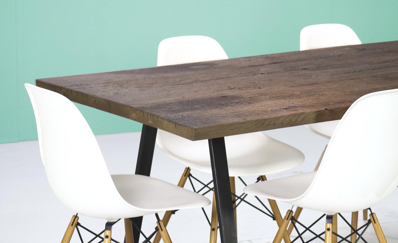 table anvers plateau sur mesure table la parqueterie. Black Bedroom Furniture Sets. Home Design Ideas