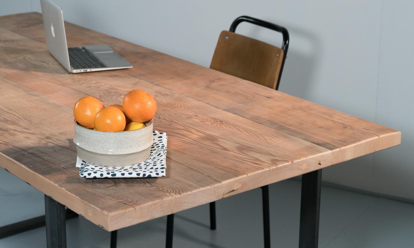 table heidelberg plateau sur mesure la parqueterie nouvelle. Black Bedroom Furniture Sets. Home Design Ideas
