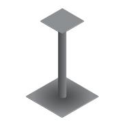 pied table sur mesure